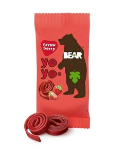Bear Yo Yo Ovocné Plátky Jahoda 20 g