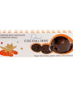 Cocoa Libre Čokoláda Rýžová Pomeranč Žáby 40 g