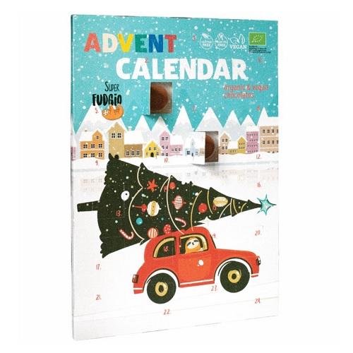 Super Fudgio Adventní Kalendář Čokoládový BIO 100 g